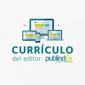 currículo del editor