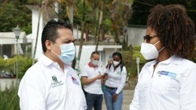 Minciencias entregadó la primera cámara despresurizada de manejo de pacientes de para Covid 19 en el Hospital José María Hernández.