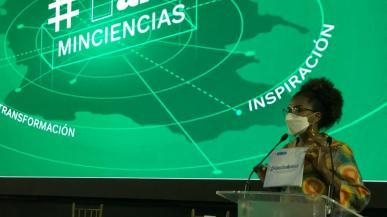 la ministra de Ciencia, Tecnología e Innovación, Mabel Gisela Torres, presentó el balance de gestión con los resultados y logros de esta nueva cartera que cumple un año desde su creación.