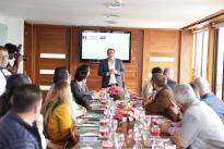 En su visita a Manizales,  la ministra Mabel Torres participó en el encuentro con alcaldes municipales y actores de Ciencia, Tecnología e Innovación del departamento de Caldas.