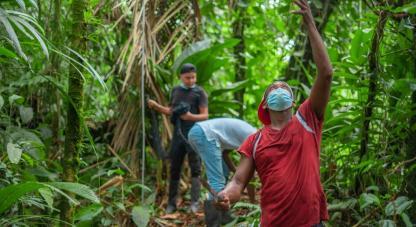 Con la expedición se busca fortalecer y contribuir al desarrollo de las comunidades afrocolombianas e indígenas del municipio de Lloró, a través del desarrollo local endógeno, con componentes de ciencia, tecnología e innovación.