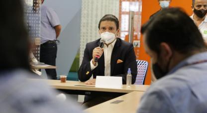 Nuestro ministro Tito Crissieninvitó a los santandereanos a participar en las convocatorias que tenemos, como CienciaParaTodos y Mujer + Ciencia+Equidad.