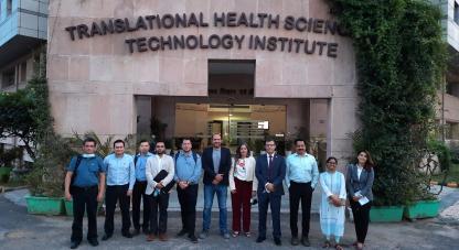 •La misión colombiana a la India está liderada por el ministro de Salud, Fernando Ruíz; el viceministro de Conocimiento, Innovación y Productividad, Sergio Cristancho, el sector privado y el sector académico.