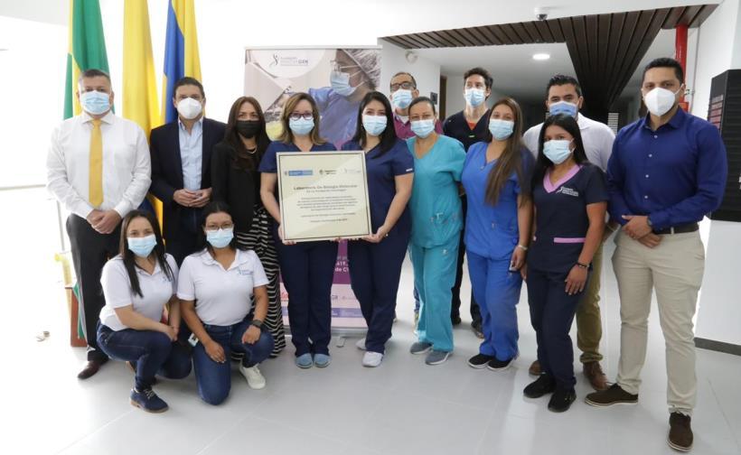 Durante su visita al Cauca, el ministro de Ciencia, Tecnología e Innovación, Tito José Crissien Borrero, inauguró tres espacios de investigación que aportarán al desarrollo científico del departamento.